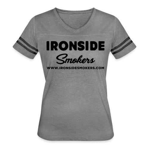 Classic Logo - Black - Women's Vintage Sport T-Shirt