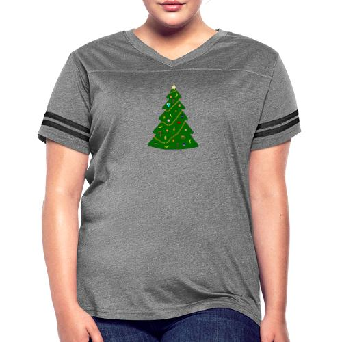 Christmas Tree For Monkey - Women's Vintage Sport T-Shirt