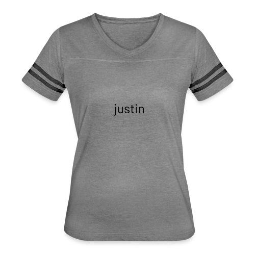 logo - Women's Vintage Sports T-Shirt
