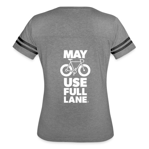 May use full lane large - Women's Vintage Sport T-Shirt