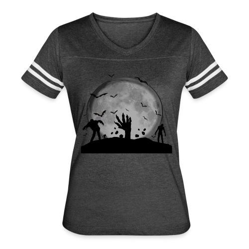 zombie shirt - Women's Vintage Sport T-Shirt