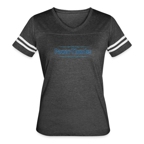 PowerThumbz Tag Blue - Women's Vintage Sport T-Shirt