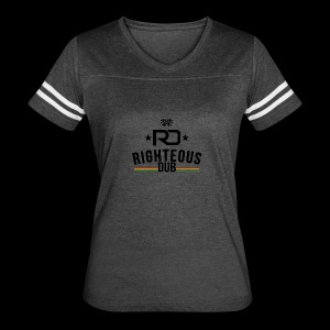 Righteous Dub Logo - Women's Vintage Sport T-Shirt