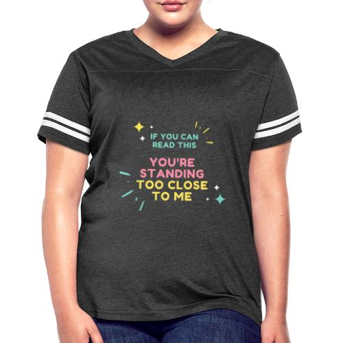 IF YOU CAN - Women's Vintage Sports T-Shirt