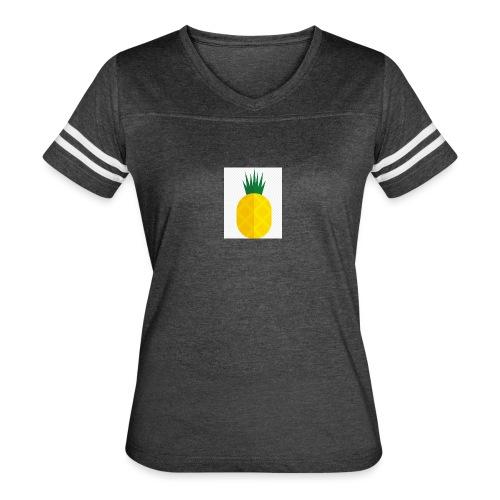 Pixel looking Pineapple - Women's Vintage Sport T-Shirt