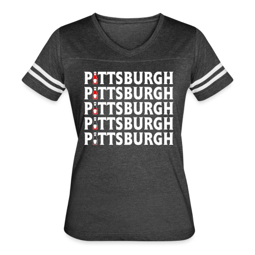 Ketch Up in PGH - Women's Vintage Sport T-Shirt