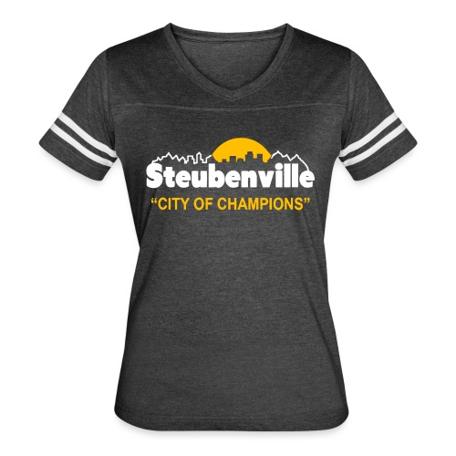 Steubenville - City of Champions - Women's Vintage Sport T-Shirt