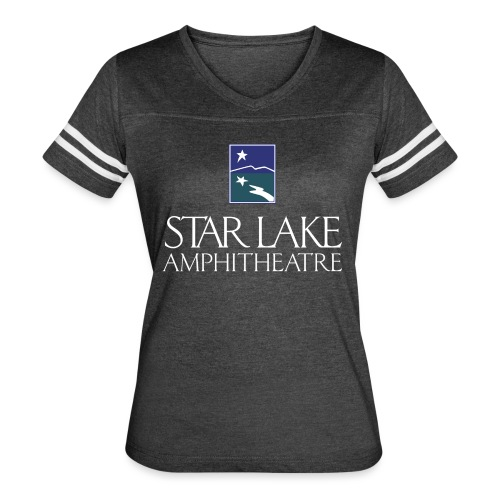 Star Lake on Color - Women's Vintage Sport T-Shirt