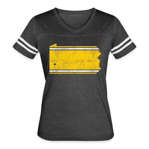 PA Stripes - Women's Vintage Sport T-Shirt