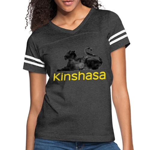 Collection Leopard of Kinshasa - Women's Vintage Sport T-Shirt