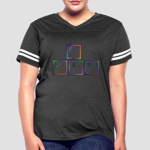 WASD - Women's Vintage Sport T-Shirt