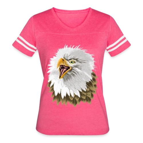 Big, Bold Eagle - Women's Vintage Sport T-Shirt