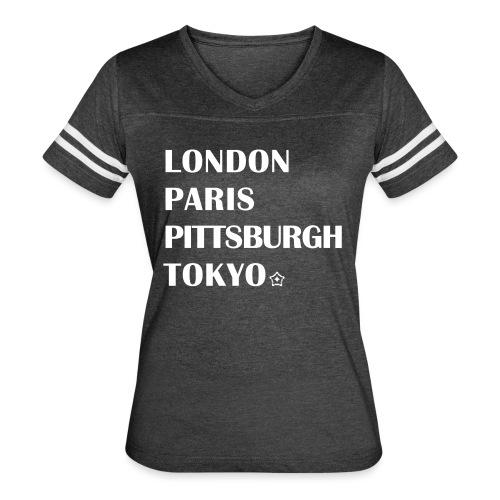 The Cities - Women's Vintage Sport T-Shirt