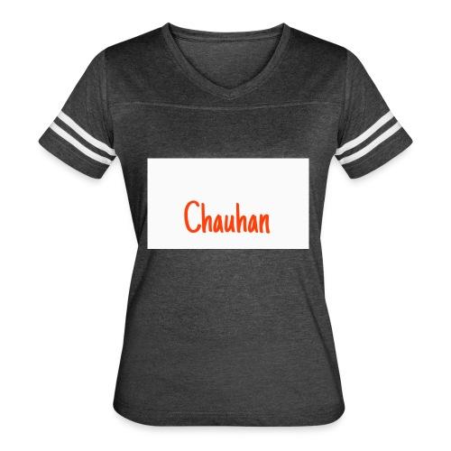 Chauhan - Women's Vintage Sport T-Shirt