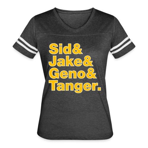 Helvetica& Hockey 2021 - Women's Vintage Sport T-Shirt