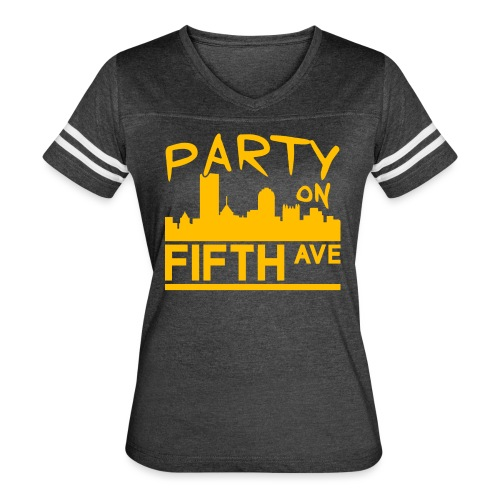 Party on Fifth Ave - Women's Vintage Sport T-Shirt