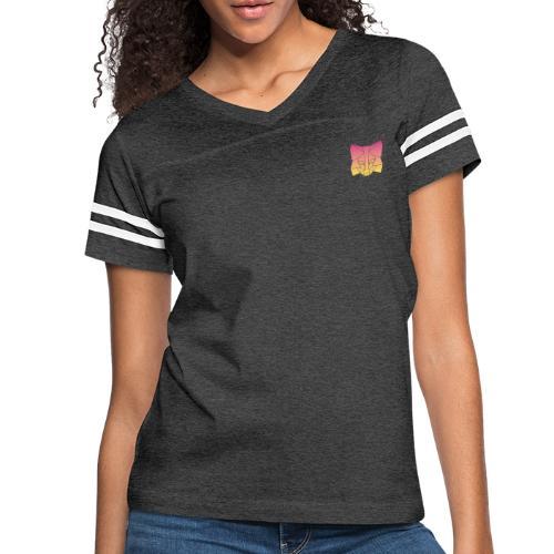 Sunset Fox - Women's Vintage Sport T-Shirt