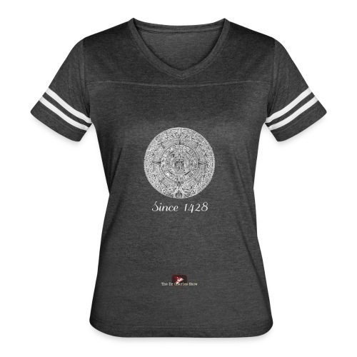 Since 1428 Aztec Design! - Women's Vintage Sport T-Shirt