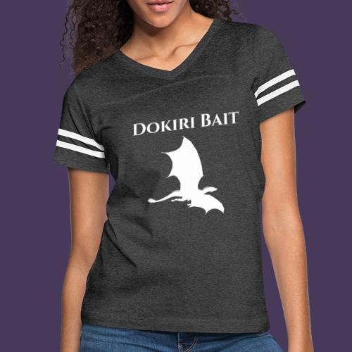 Dokiri Bait White - Women's Vintage Sports T-Shirt