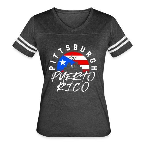 PGH PR png - Women's Vintage Sports T-Shirt