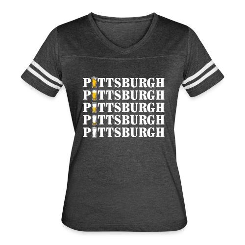 Beer in Pittsburgh - Women's Vintage Sport T-Shirt