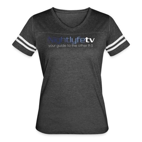 NTV Logo Full - Women's Vintage Sport T-Shirt