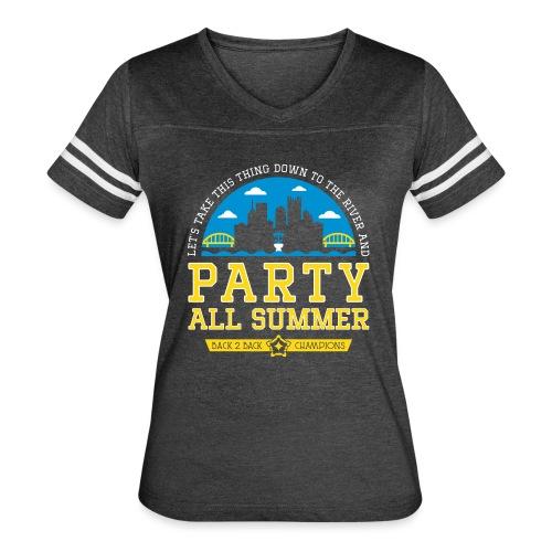 party all summer - Women's Vintage Sport T-Shirt
