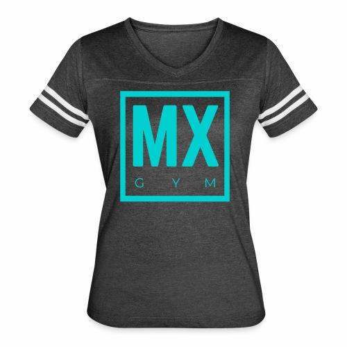 MX Gym Minimal Logo 2 - Women's Vintage Sport T-Shirt