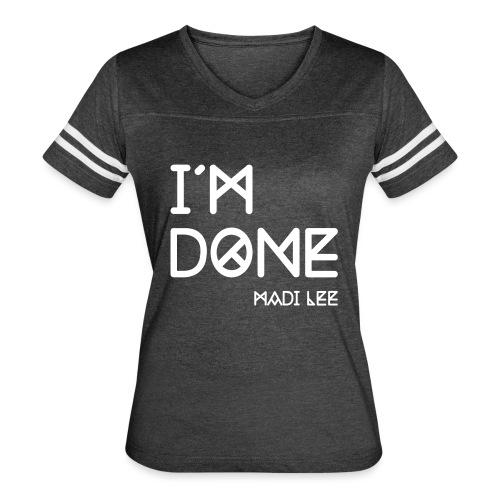 imdonemadilee - Women's Vintage Sport T-Shirt