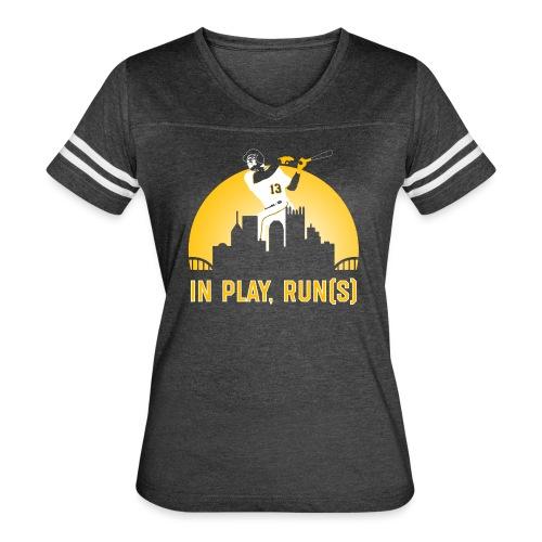 In Play, Run(s) - Women's Vintage Sport T-Shirt