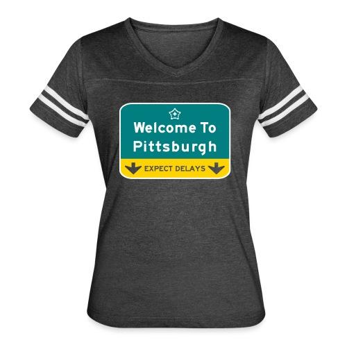 expect delays - Women's Vintage Sport T-Shirt