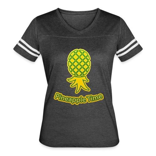 Swingers - Pineapple Time - Transparent Background - Women's Vintage Sports T-Shirt