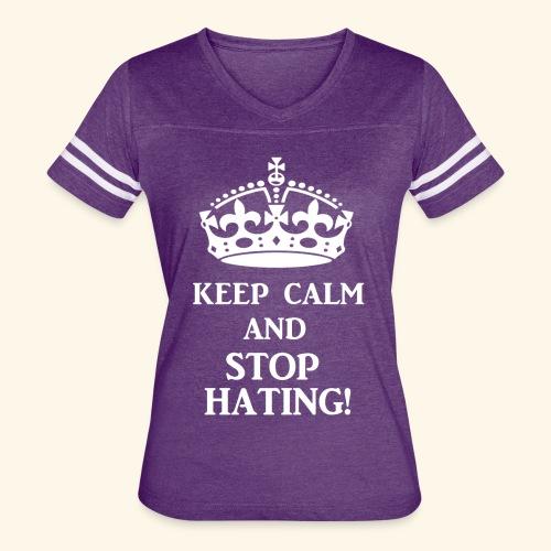 stoph8ingwht - Women's Vintage Sport T-Shirt