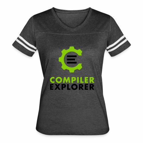 Logo and text - Women's Vintage Sport T-Shirt