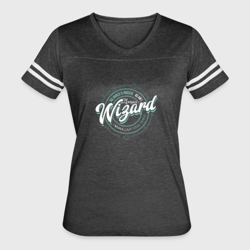 Wizard Class Fantasy RPG Gaming - Women's Vintage Sport T-Shirt
