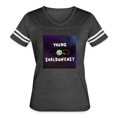 Young Sheldoncast - Women's Vintage Sport T-Shirt