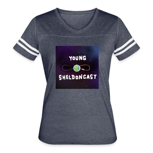 Young Sheldoncast - Women's Vintage Sport T-Shirt