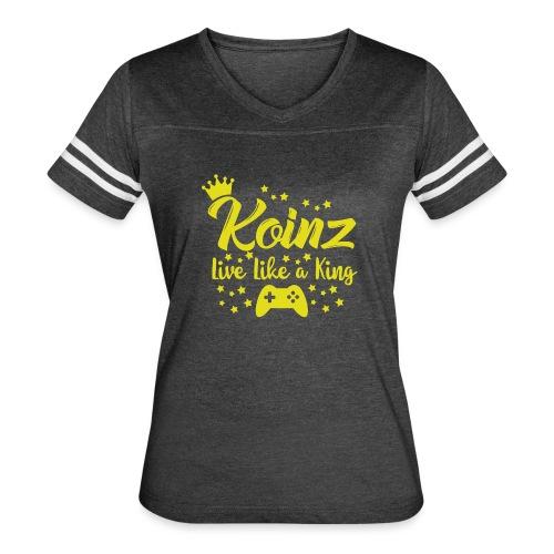 Live Like A King - Women's Vintage Sport T-Shirt