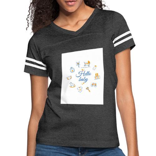 Hello baby - Women's Vintage Sport T-Shirt