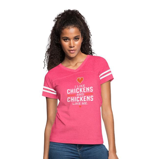 I like chickens