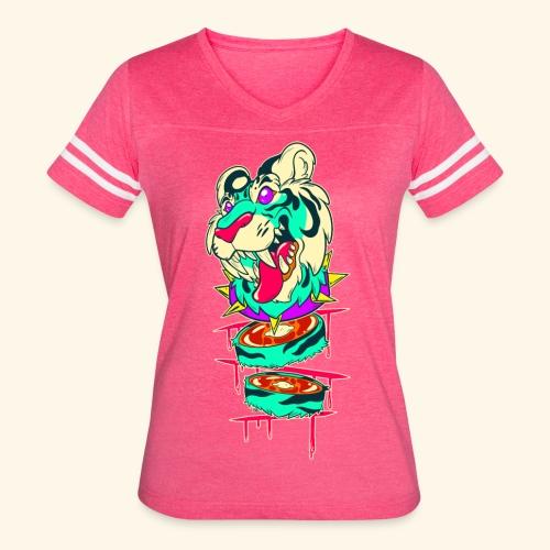 - Decaptiger - - Women's Vintage Sport T-Shirt