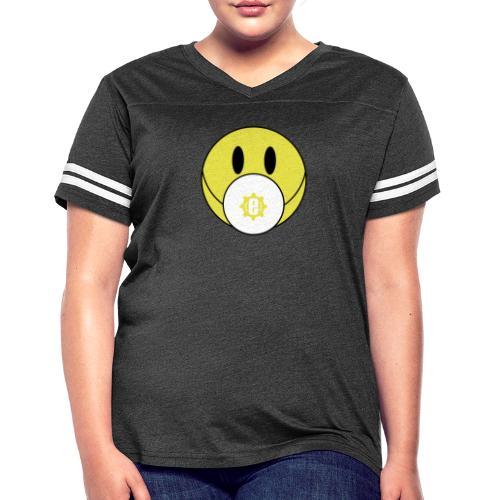 Engineeer Mask - Women's Vintage Sport T-Shirt