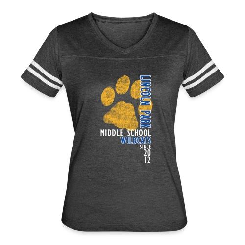 LPMS Vertical - Women's Vintage Sport T-Shirt