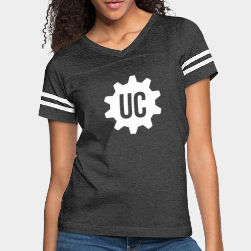 White Emblem - Women's Vintage Sport T-Shirt