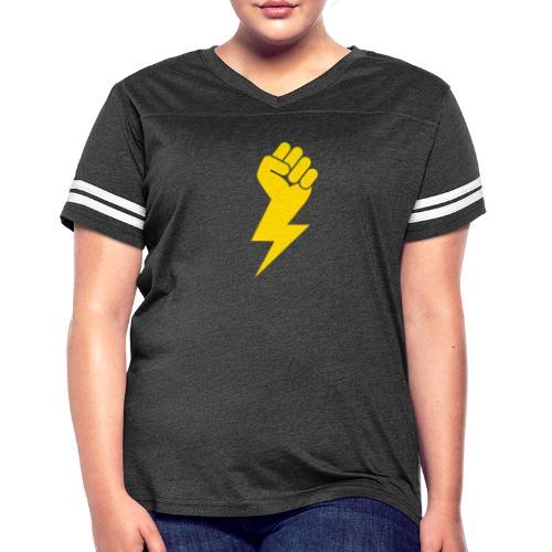 Power Fist - Women's Vintage Sport T-Shirt