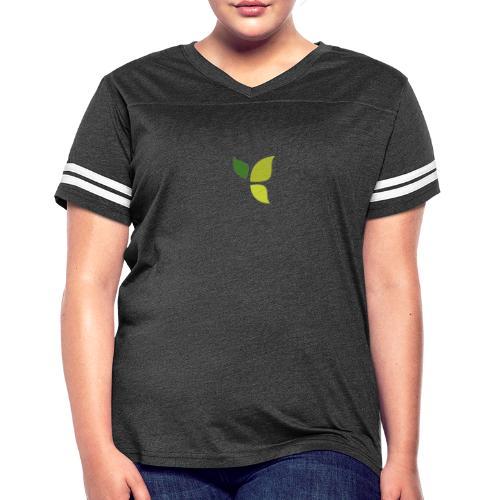 Dom Gooden Leaf Logo - Women's Vintage Sport T-Shirt