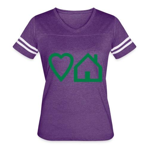 ts-3-love-house-music - Women's Vintage Sport T-Shirt