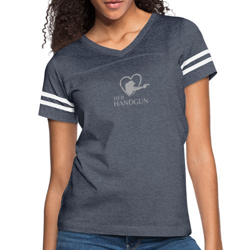 Official HerHandgun Logo - Women's Vintage Sport T-Shirt