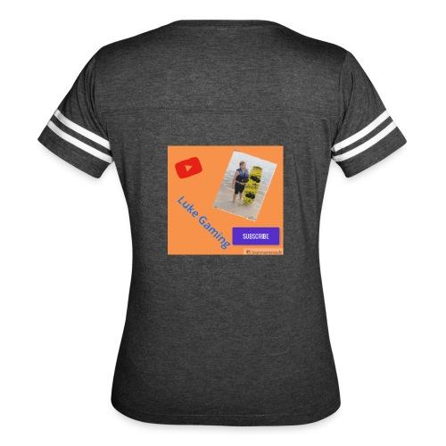Luke Gaming T-Shirt - Women's Vintage Sport T-Shirt