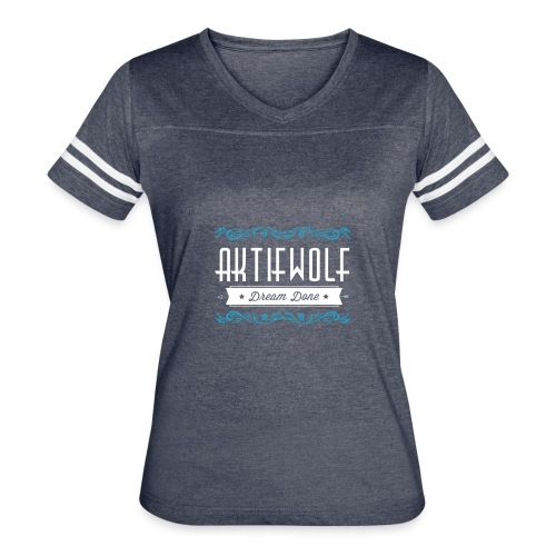 Aktifwolf Floral - Women's Vintage Sport T-Shirt